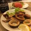 酒場 ふくろ - 料理写真:イカバター焼とトマト! さくっと飲んできた!
