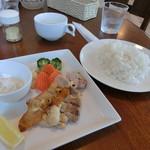 カフェ 凛 - 料理写真:月替わりランチ(税込1,000円)