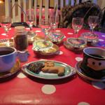 Mirukumura - 手作りのクッキー、食後のコーヒーもおもしろい(^^)