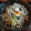 蕎麦廚 やなぎや - 料理写真:黒胡麻一番しぼり蕎麦\780(16-07)