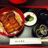 東京 竹葉亭 - 料理写真:鰻丼 椿 3,250円