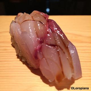 鮨人 - 料理写真:氷見の鯵