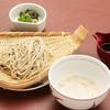 鉢の木cafe - 料理写真:とろろそば 1,300円(税込)