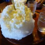 弥次喜多 - 私はミルク氷 550円