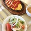 トトロ - 料理写真:今日のランチはオムライス♡