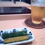 千成寿司 - 料理写真:キュウリ浅漬け