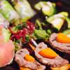 和膳洋菜 みすとらる - 料理写真:テリーヌとピクルス、生ハムメロン、アボカド&海老&スモークサーモンの生春巻き、ズッキーニとゴーヤバーニャカウダソース