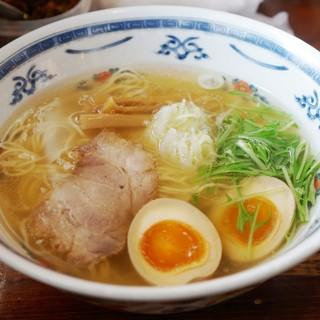 麺屋 大輔 - 料理写真:(2回目)しお 玉子入り