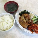 キムチ専科 - 料理写真:豚カルビ定食(2016/07/11撮影)