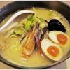 光 - 料理写真:海鮮らーめん+味玉子 790+100円 ちゃんぽんちっくな印象です。