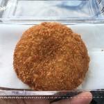 道の駅 かわもと - 深谷ネギメンチ 120円