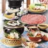 木曽路 - 料理写真:松茸としゃぶしゃぶコース
