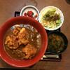 まぐろ茶屋 北の浜 - 料理写真:日替りの唐揚げカレー
