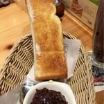 コメダ珈琲店  - あんこ と トースト モーニング