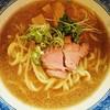 燦燦斗 - 料理写真:らーめん700円2本の線が繋がる瞬間