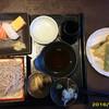 徳樹庵 - 料理写真:季節の天ぷらそば寿司御前