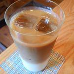 石かわ珈琲 - アイスカフェオレ