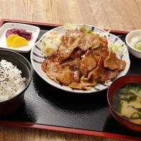 ちとせ - 豚の生姜焼き定食 750円