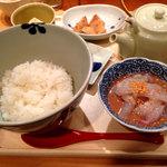 だし茶漬け えん - 愛媛産鯛だし茶漬け930円