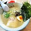 天晴 - 料理写真:日替わりラーメン(550円)この日のスープは「魚介」「塩とんこつ」