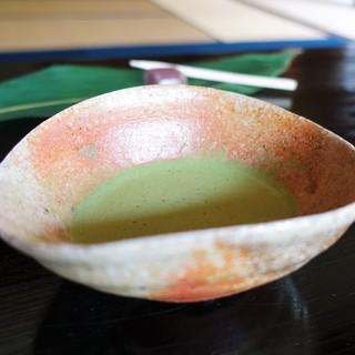 寿長生の郷 - ドリンク写真:お抹茶