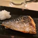 種よし - 鯖塩焼き