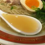 53508453 - 冷やし豚骨スープ