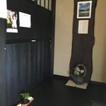 蕎麦 陸右エ門 - 玄関