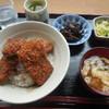 工房 くりま - 料理写真:ソースかつ丼 ¥800-