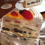ハーブス - フレッシュフルーツケーキ ¥950
