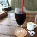 コモド カフェ&ダイニング - ドリンクは、アイスコーヒーにしました