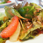 レストラン コンテッラ - サラダのアップ