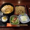 蕎麦処 朝日屋 - 料理写真:カツ丼セット995円