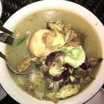 Mr. A Bar and Restaurant - 豚の軟骨スープ! とてもコラーゲンたっぷりで美味しいスープです