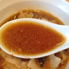 ほっこり中華そば もつけ - 料理写真:限定「肉汁つけ麺」850円(スープ)
