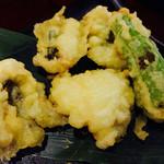 月味座 - 季節の天ぷら はも