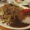 きぬちゃん食堂 - 料理写真:大盛り!!カレー焼きそば(2016年7月)