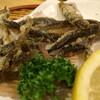 居酒屋 八起 - 料理写真:ドジョウ唐揚。カリカリ美味しい。