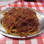 スパゲッティーのパンチョ - ぶっかけミートナポリタン(並)840円