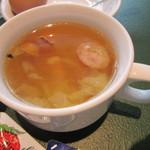 カフェ&バー コルト - 野草スープ