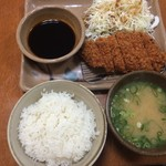 新天町倶楽部 - とんかつ御膳【650円】