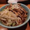 麺楽 - 料理写真:野菜+めんま(7月)