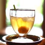 未在 - 冷たい梅の食前酒