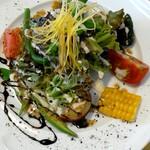 フクモト - 料理写真:前菜 1800円コース