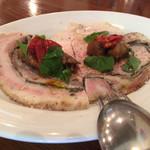 トラットリア フランコ - ¥2100のコース、前菜1(二人分)