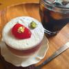 あおい - 料理写真:シュガープラムのパンナコッタ (季節限定)