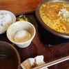 甘味喫茶 侘助 - 料理写真:土鍋カレーうどん(1,200円)
