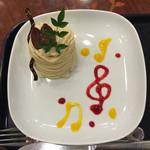 レアル プリンセサ・リカルディーナ 磯上邸 - 抜群に美味しいモンブラン!これは、その後行った2回目の写真です。