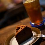 うてな喫茶店 - ふっわふわ感のチョコレートケーキ♪