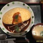 とり亀 - オムライス